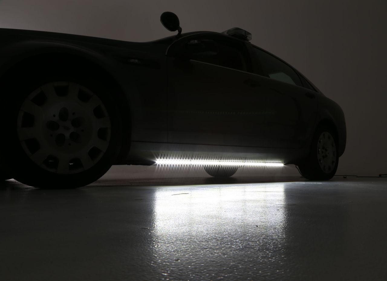 Whelen Tracer Dodge Charger 2015+ LED Running Board Lights, SOLO Models Include Traffic-Advisor, 30 Scan-Lock Flash Patterns