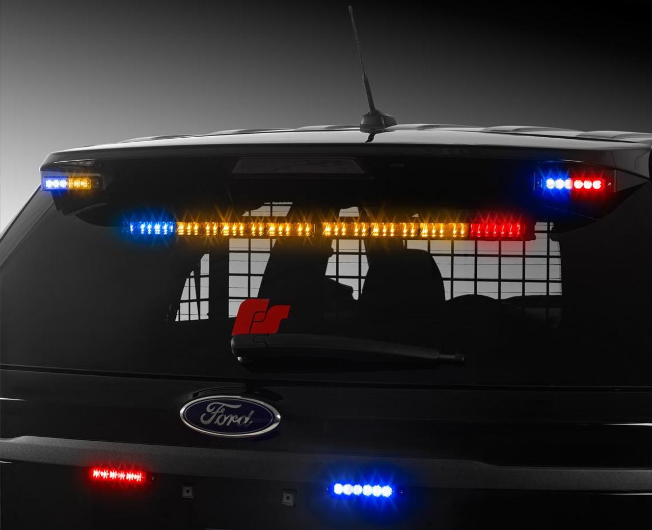 Federal Signal CN SignalMaster Eight LED Light Head Stick, Single or Dual Color with Traffic Advisor