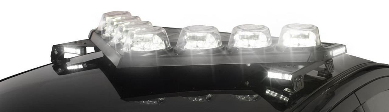 Federal Signal Vision SLR LED Light Bar with Dual Color and Traffic Advisor