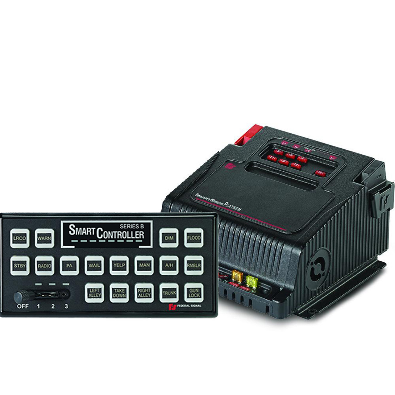Federal Signal Smart-Siren SSP3000B Platinum 3000 Siren and Light Control System including Signalmaster and Microphone