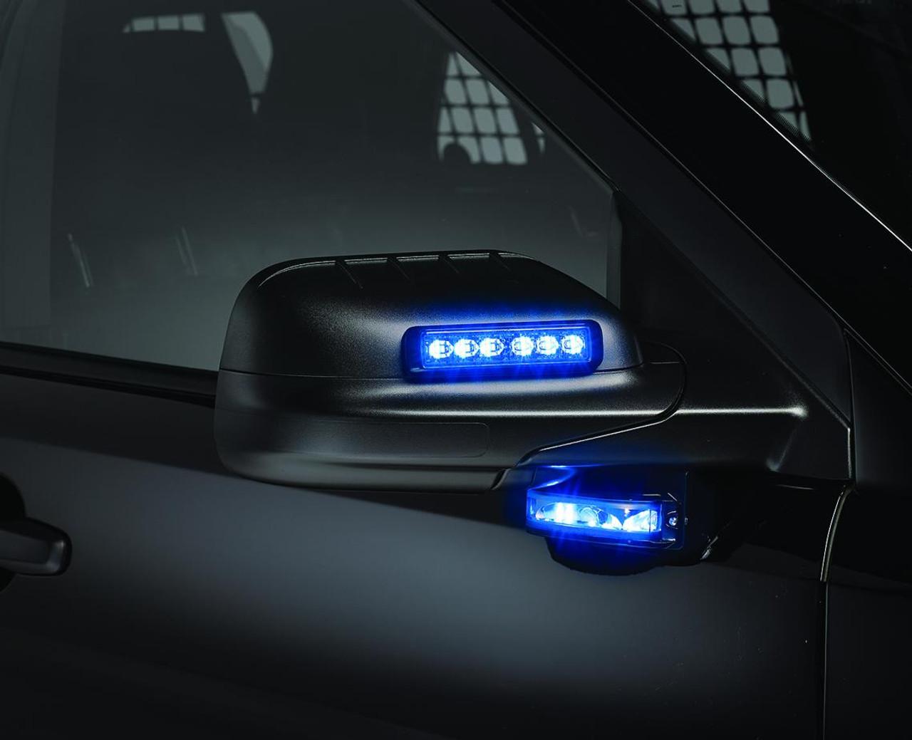 Federal Signal MicroPulse Ultra Thin 6 LED Surface Flush Mount Light Head MPS600U--