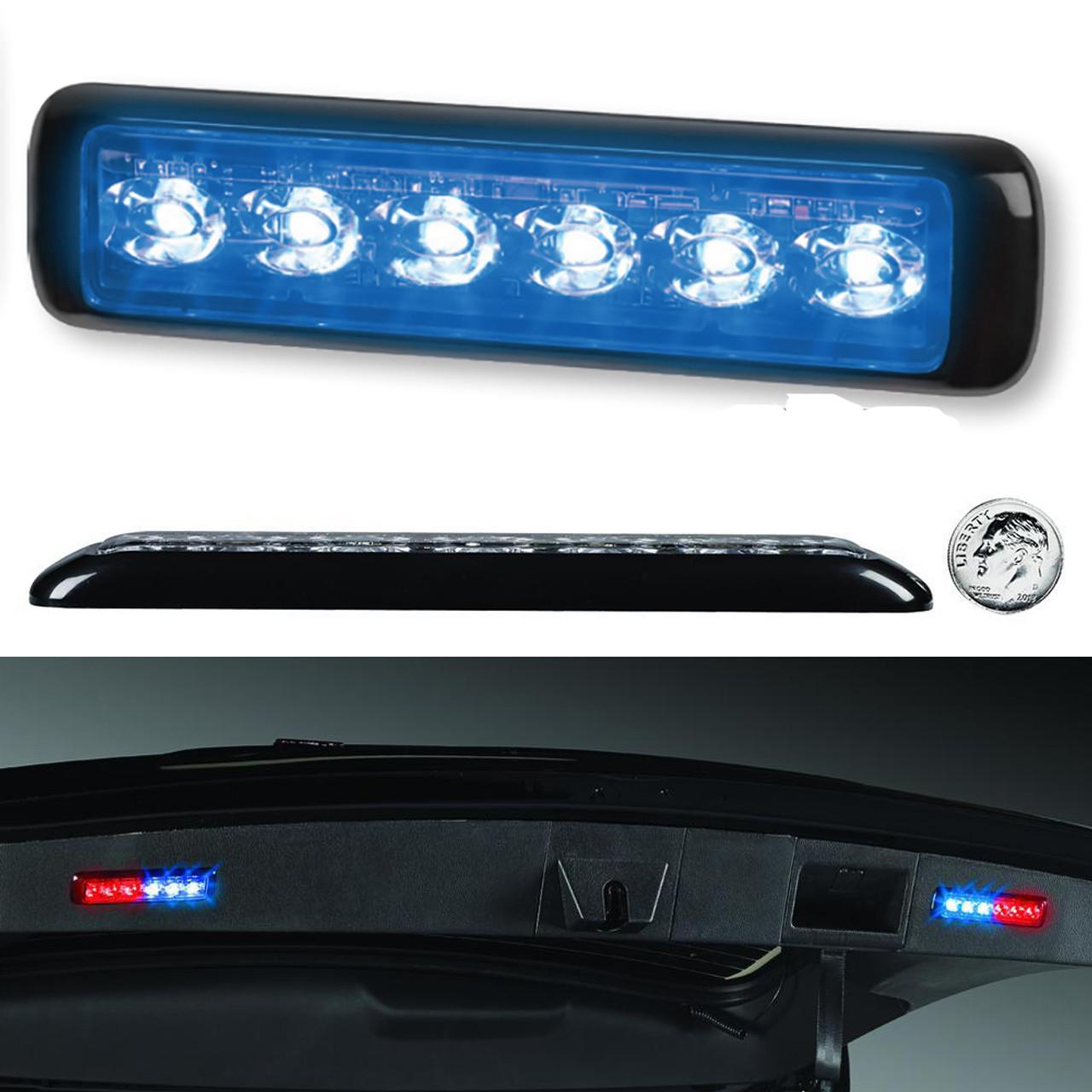 Federal Signal MicroPulse Ultra Thin 12-LED Dual Color Surface Flush Mount Light Head MPS620U--