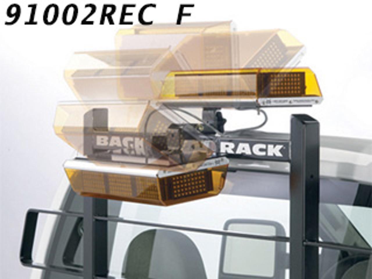 Backrack 91002REC 16 X 7 Center Mount Utility Light Bracket