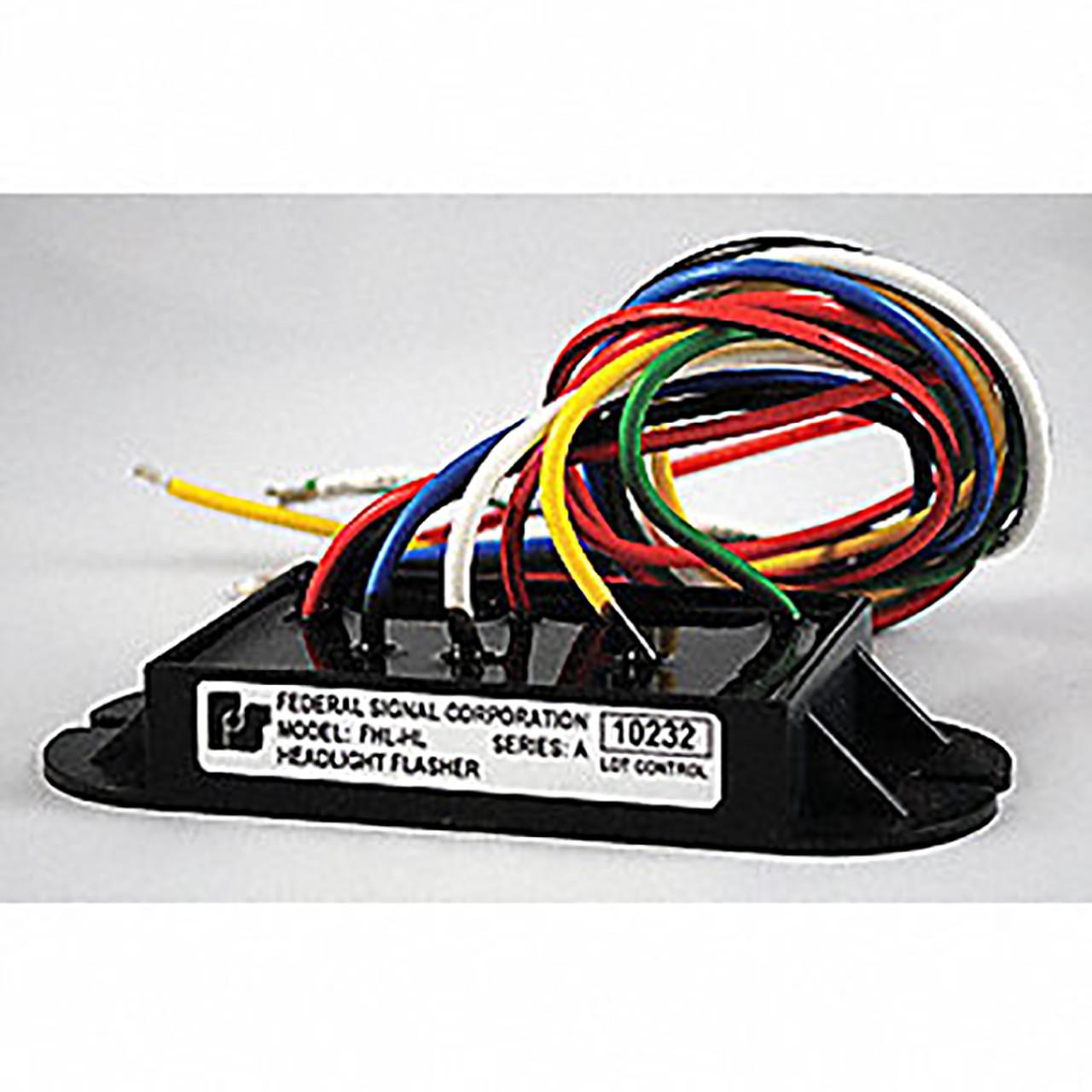 Federal Signal Headlight Flasher on