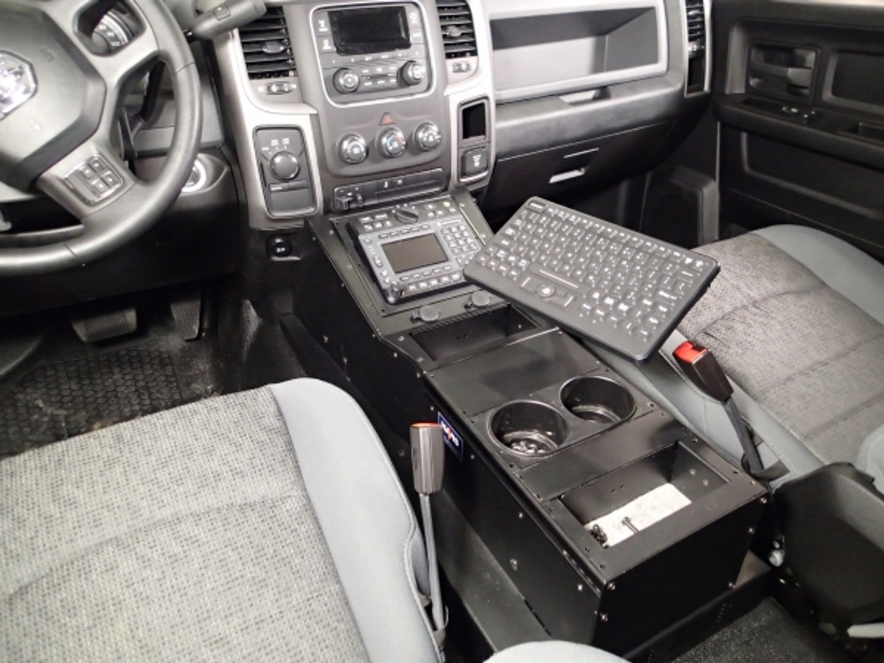 Flex Arm Package for Tablet or Keyboard Mounting For 2013-2016 Dodge Ram by  Havis