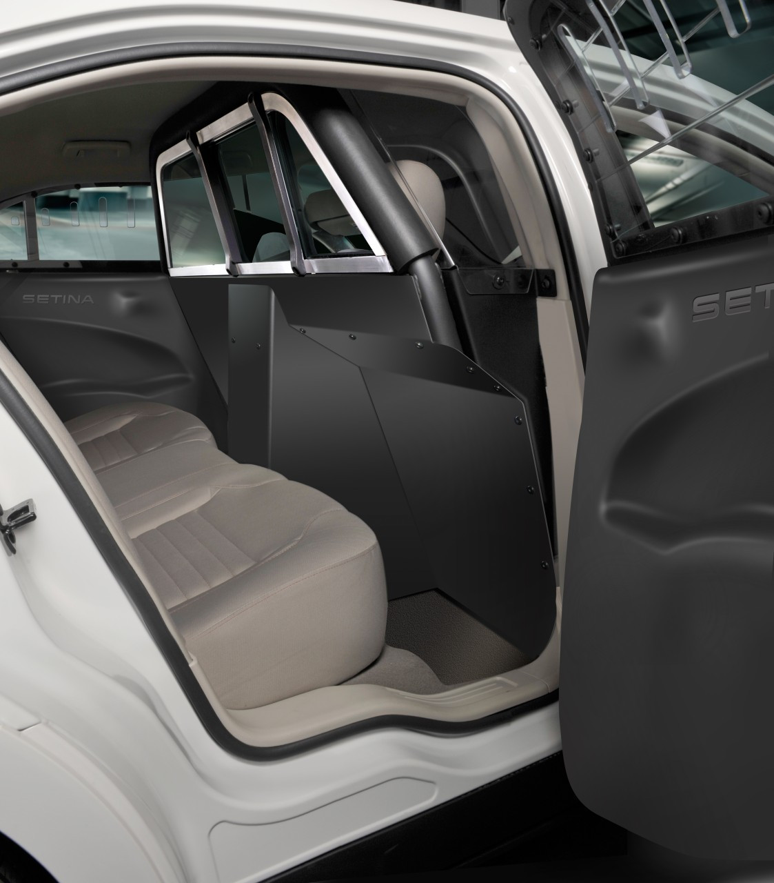 Setina Dodge Charger 2015 2019 Police Car Prisoner Partition Xl Cage Provides Extra Legroom For Prisoner And More Space For Drivers Seat