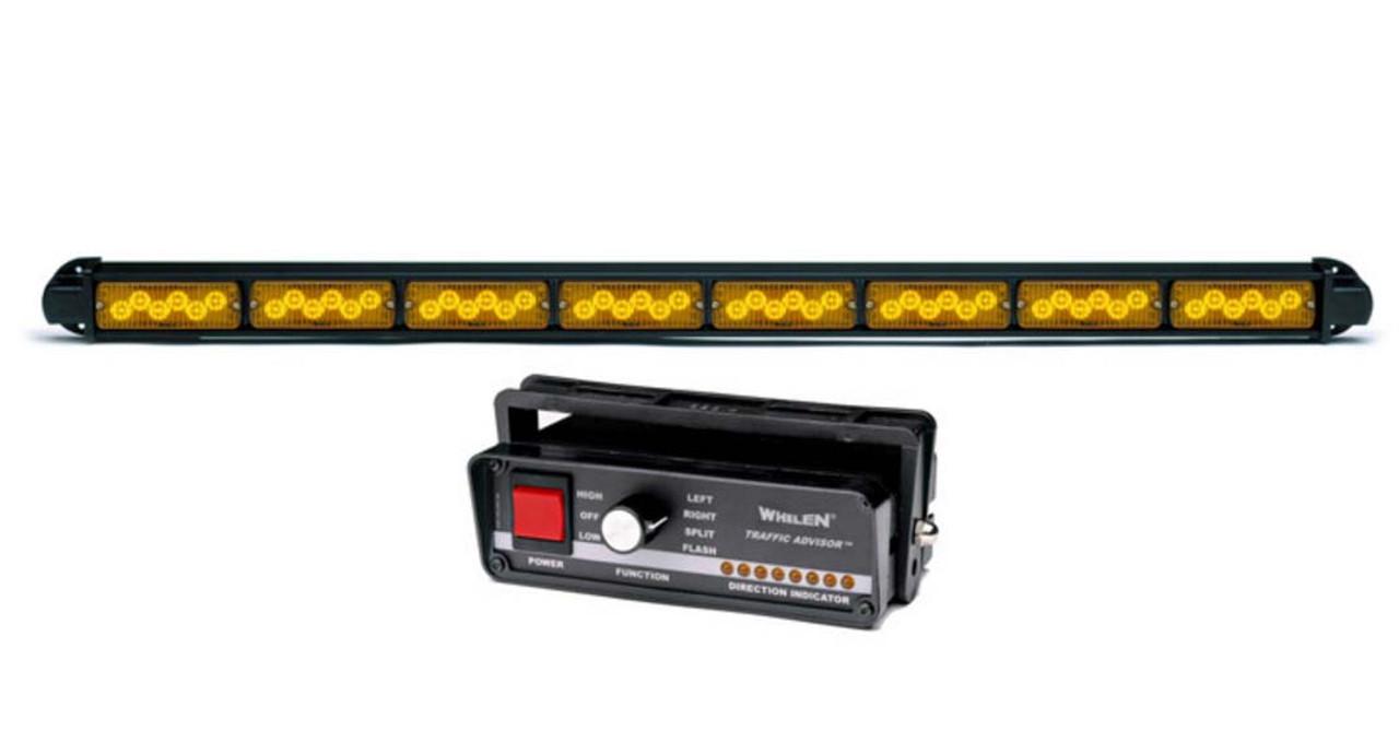 Whelen Traffic Advisor TAM85 8 TIR LED Light Arrow Stick, Includes Control Head