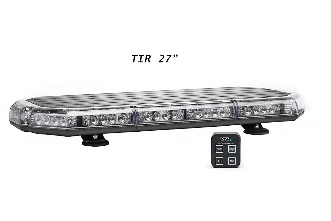 Mini Led Light Bar >> Emergency Vehicle Led Mini Light Bar By Speedtech Lights K Force