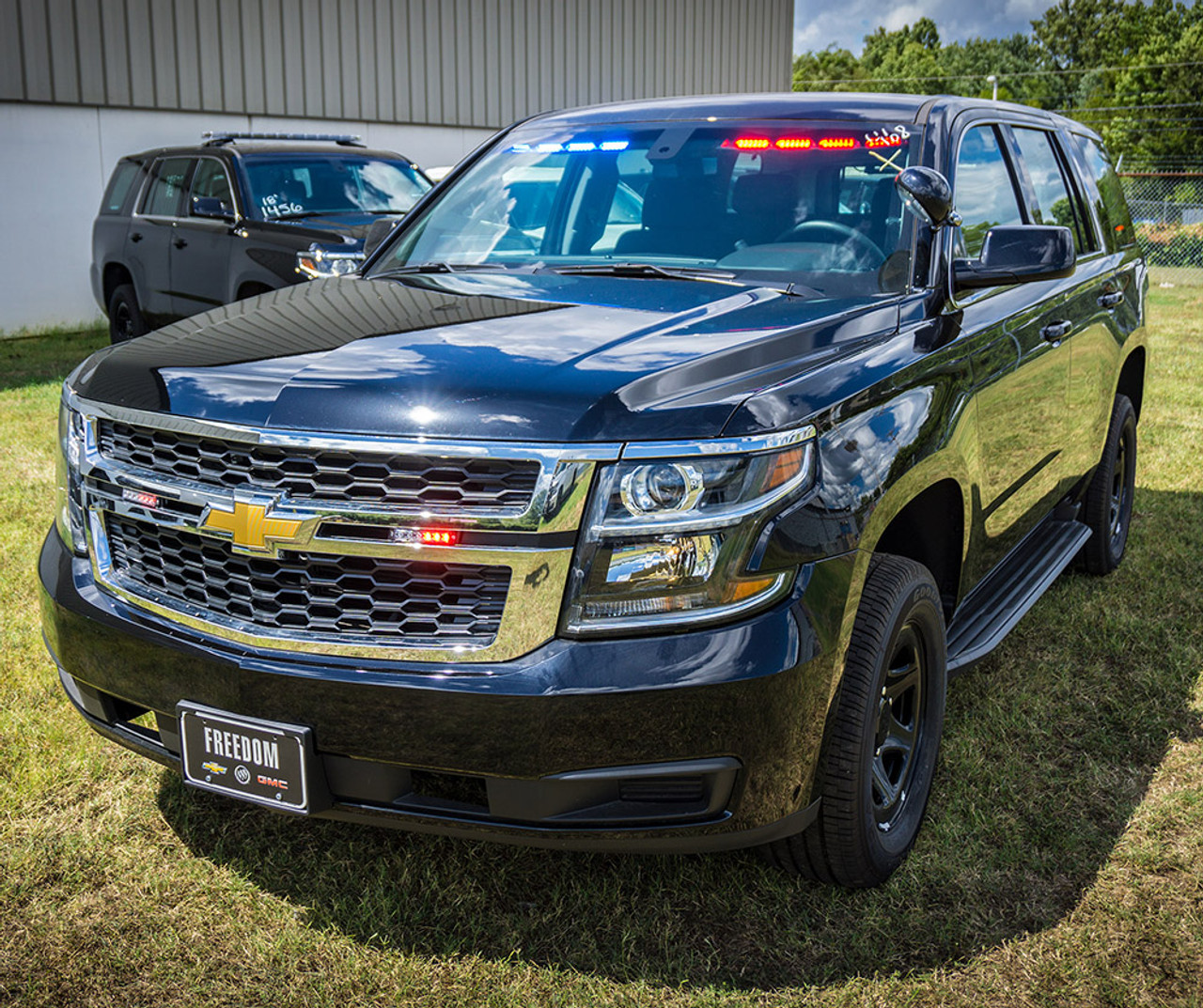 2019 Chevy Tahoe >> New 2019 Black Chevy Tahoe Police Package V8 2wd Ready To Be Built As A Slick Top Admin Package Choose Any Color Led Lights Delivery