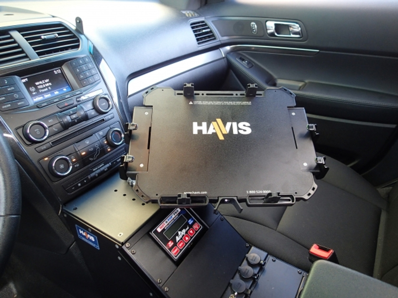 "Havis Universal Rugged Cradle for approximately 11""-14"" Laptop Computing Devices, with Added Width (UT-1004)"