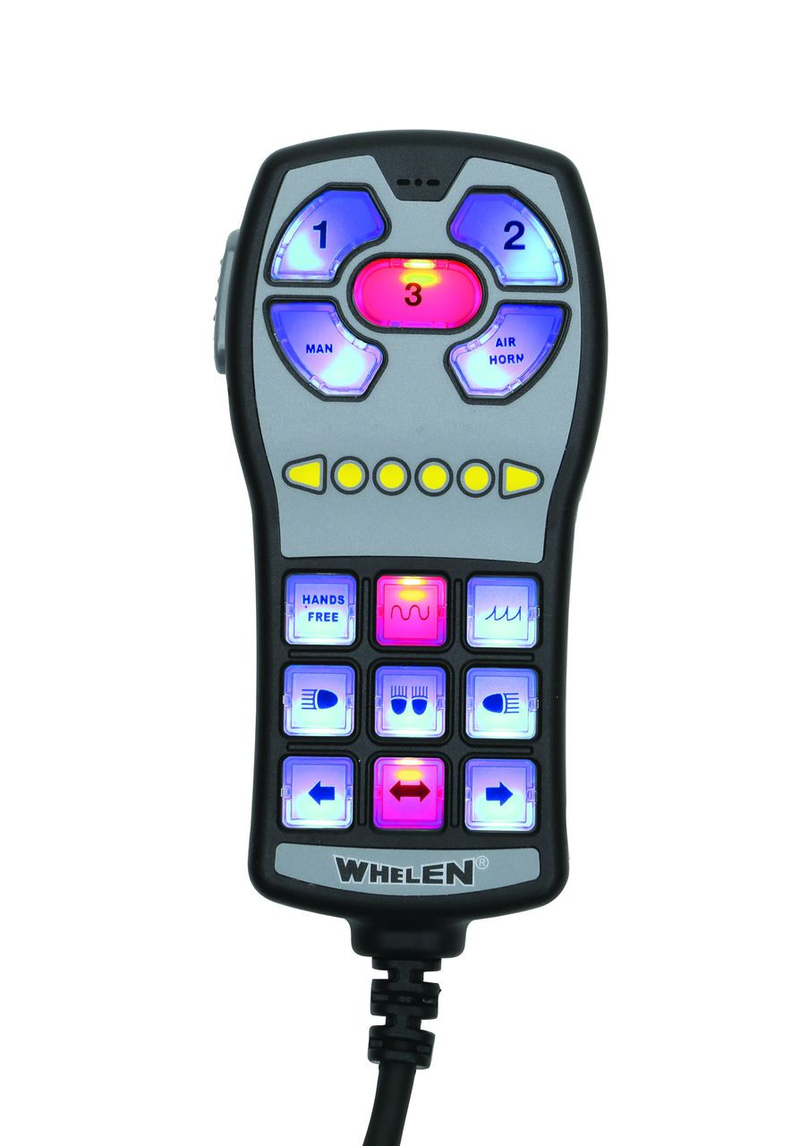 Whelen HHS3200 Police Siren and Light Controller Hand Held
