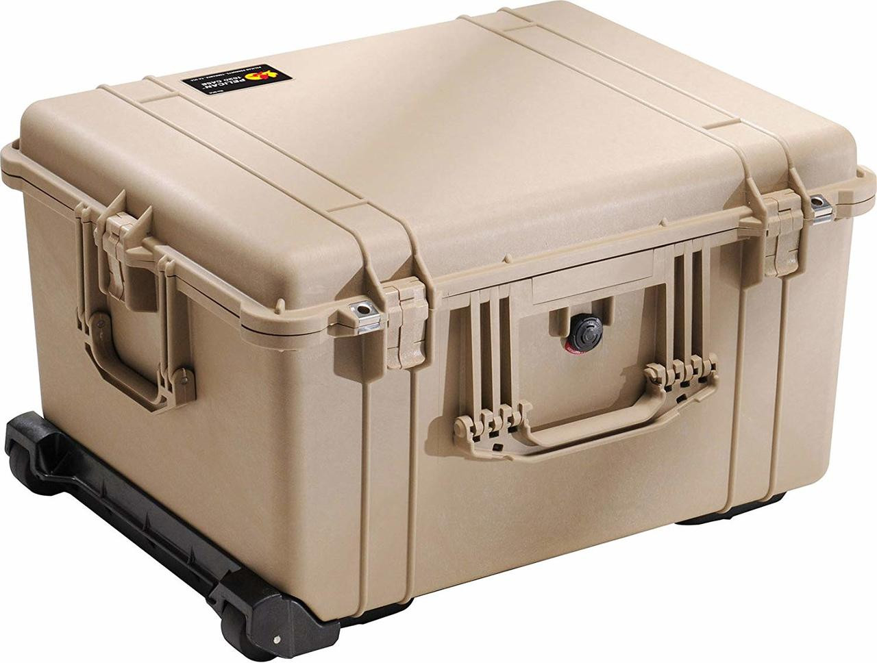 Pelican 1620 Protector - Large Case - Waterproof, Crushproof, Rustproof, Hard Case with Optional Foam Insert, Padded Divider or TrekPak Divider System, 25 x 20 x 14, 27 lbs (w-out foam, 22 lbs)