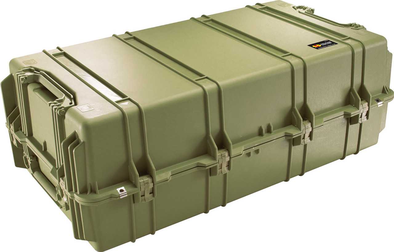 Pelican 1780 Protector - Large Transport Case - Strong Polyurethane Wheels with Stainless Steel Bearings, With Optional Foam Insert, 46x26x17, 56.00 lbs (w-out foam, 46 lbs)