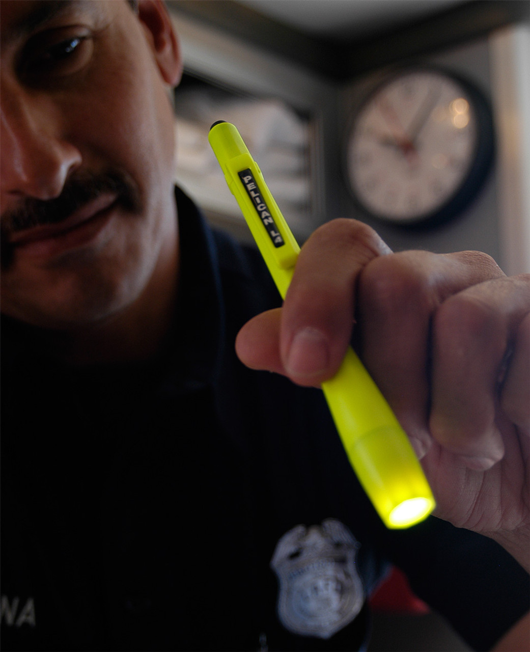Pelican L4™ LED Flashlight, With 50+ hours of battery life, Light weight, comfortable and well-balanced, Available in Black or High Visibility Yellow 1830