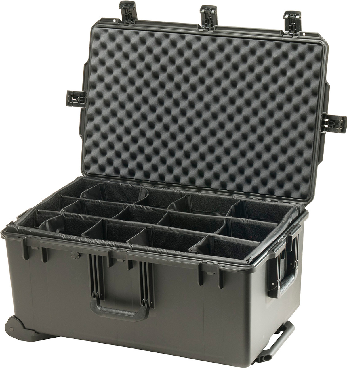 Pelican iM2975 Storm Large Travel Case Hard Case with Optional Foam Insert or Padded Divider, Available in Black, or OD Green, 32 x 21 x 16, 36 lbs (26 lbs without inserts)