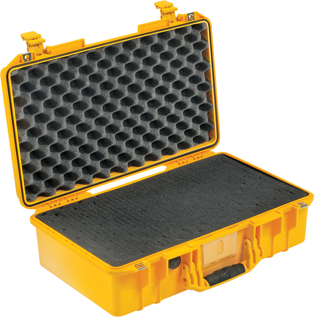 Pelican 1525 Air Small Case - Super Lightweight Design, with Optional Foam Insert, Padded Dividers or TrekPak Divider System, Available in Black, Orange, Silver, or Yellow, 23x15x16, 19 lbs (w-out foam, 16 lbs)