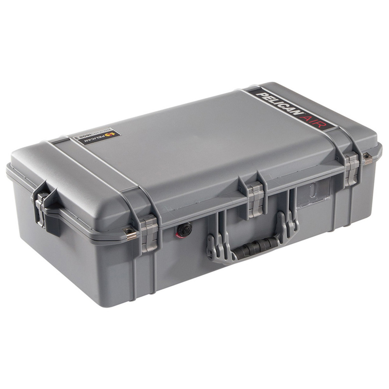 Black /& Blue Pelican 1525 Air case with Yellow Padded dividers.