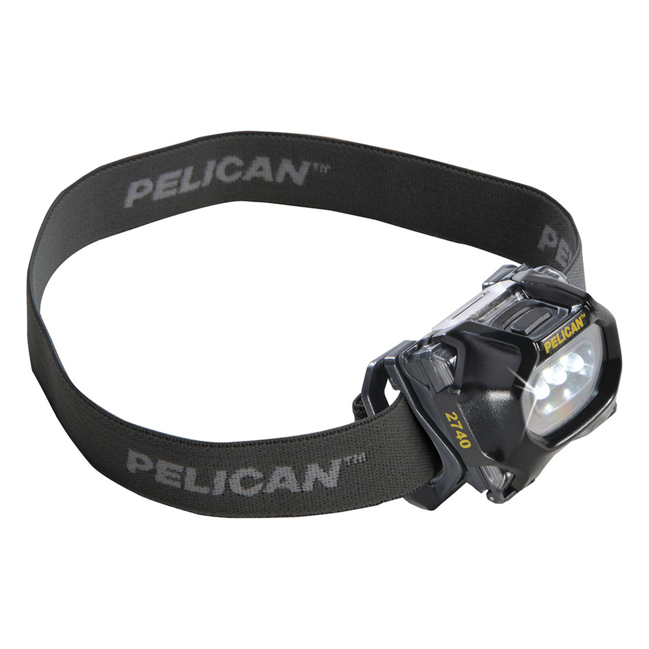 Pelican Compact LED Headlamp, 3 LEDs, With Night vision friendly, Available in Black or Translucent Blue  2740