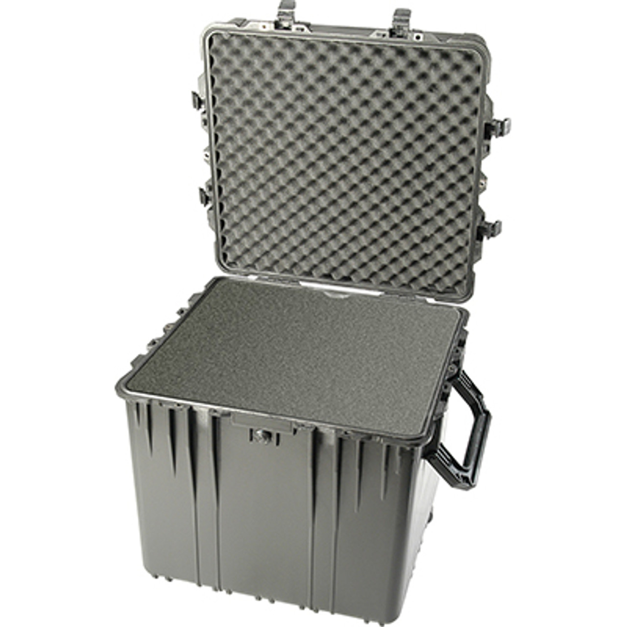 Pelican 0370 Protector  Cube Case, Watertight, Crushproof, and Dustproof, with Optional Foam Insert and Optional Lid Organizer Add-on, Available in Black, OD Green or Desert Tan, 27x27x25, 47 lbs (w-out foam, 38 lbs)