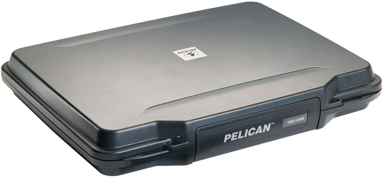 Pelican 1085 HardBack Laptop Case - Watertight, crushproof, and dustproof, with Foam insert, includes Removable shoulder strap, Available in Black, 12x13x17, 16 lbs