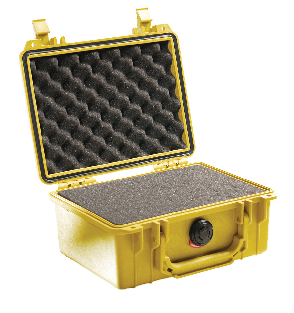 Pelican 1150 Small Protector Case, Watertight, Crushproof, and Dustproof, with Optional Foam Insert or TrekPak Divider System, Available in Black, Silver, Orange, Yellow, Blue, OD Green, or Desert Tan, 16x15x11, 14 lbs (w-out foam, 13 lbs)