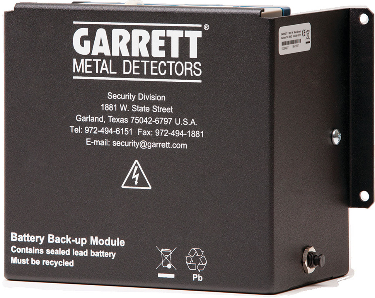 Garrett PD 6500i Mobile Walk-Through Metal Detector - Battery Modules