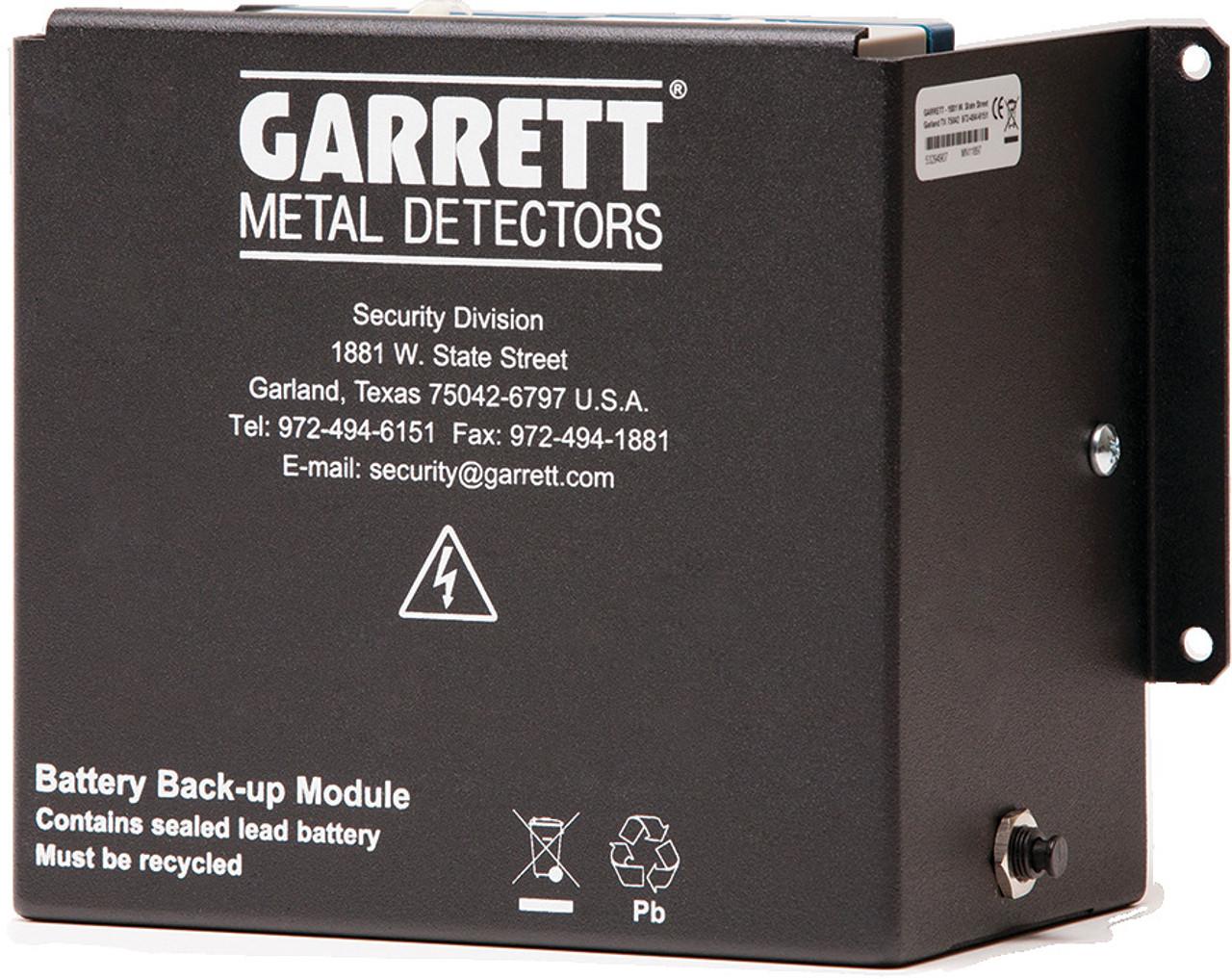 Garrett PD 6500i Mobile Walk-Through Metal Detector - Battery Modules