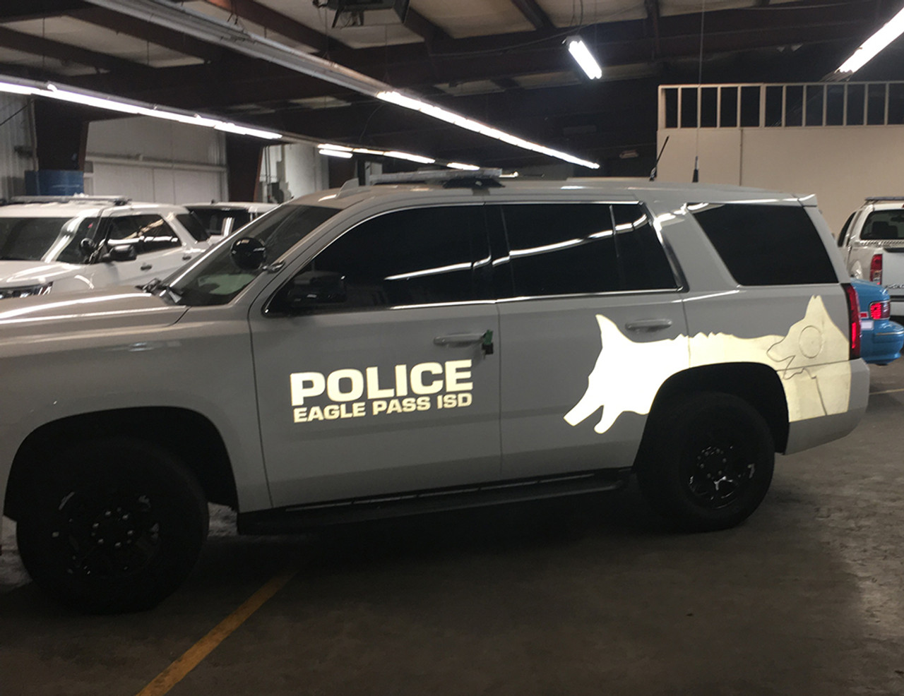 Police K-9 Vehicle Ghost Graphic Decals fit Cars, SUV's, Trucks, Vans