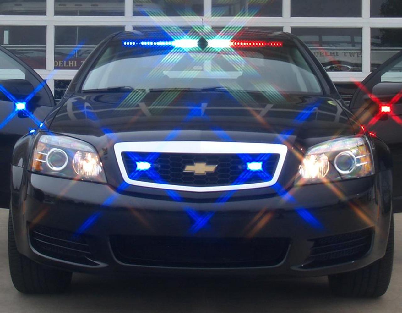 Sound Off Chevy Silverado N Force Interior Front Facing Led Light Bar Single Color Or Dual Color Per Lighthead Enfwbf