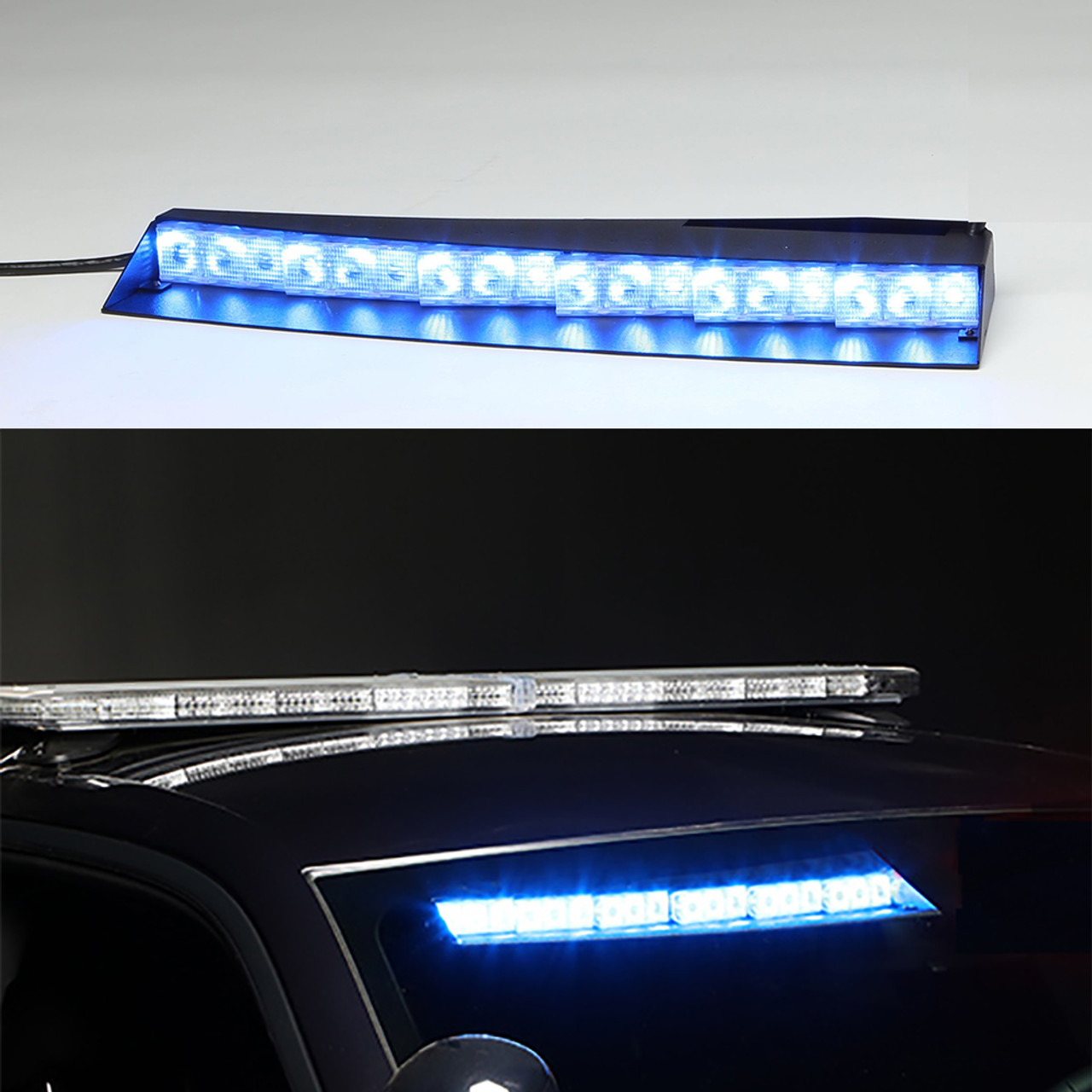 Whelen Inner Edge® FST™ Chevy Suburban 2015-2019, Upper Front Facing  Interior Light Bar, Passenger Side Unit Only, Low Current Switching or  WeCan®,