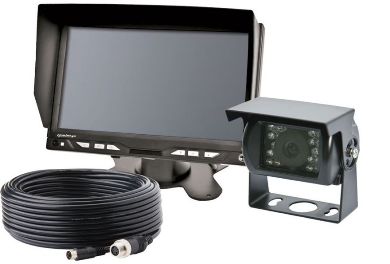 """Code-3 LCD Flat, 7"""" Widescreen, Color Backup Camera System CK7000B"""