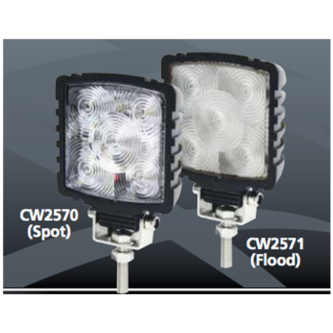 Code-3 Mini Worklight, Spot or Flood Light CW2570