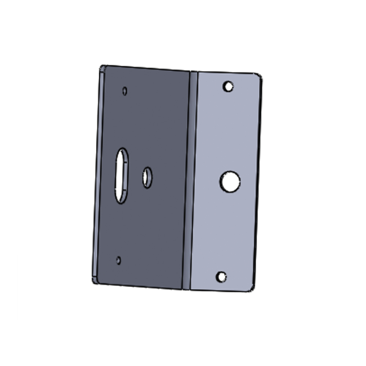 Code-3 B-Pillar 100 Degree Window Brackets for Chevy Caprice, Fits T-Rex®, XTP3 and Torus® Lights