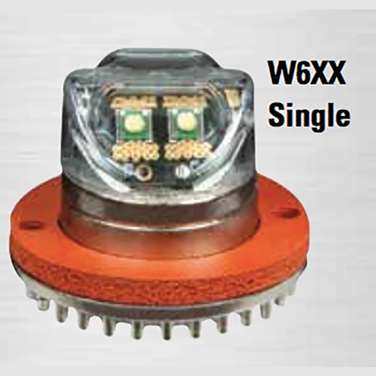 Code-3 Wildcat 4 LED Hide-A-Blast Hideaway Corner LED Light Heads, Single or Two Head