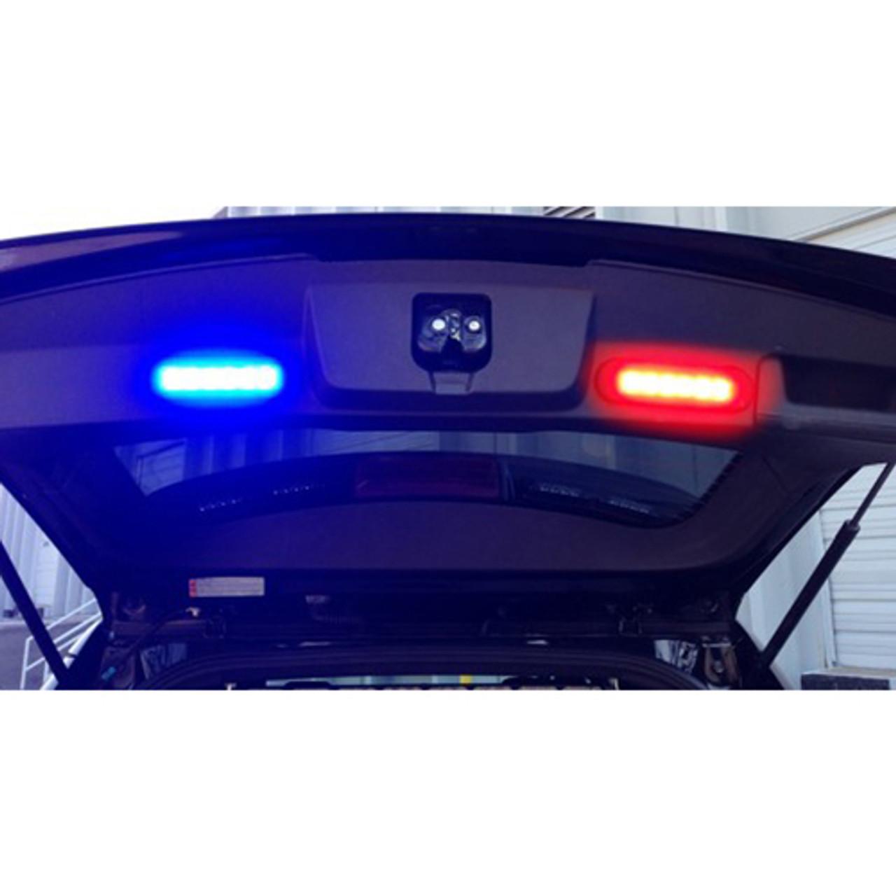 Code-3 MR6 Surface/Flush or Hood Mount .8 Inch Light Head, 6 LED Single or Split Color