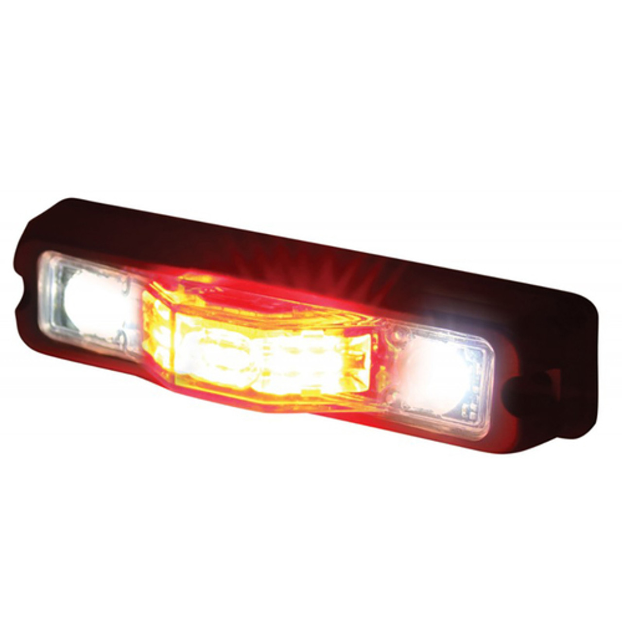 Code-3 M180 Surface/Flush or Intersection Mount, Ground/Puddle Light Light Head, Multi/ Dual Color M180SMC, 1.5 inches thick