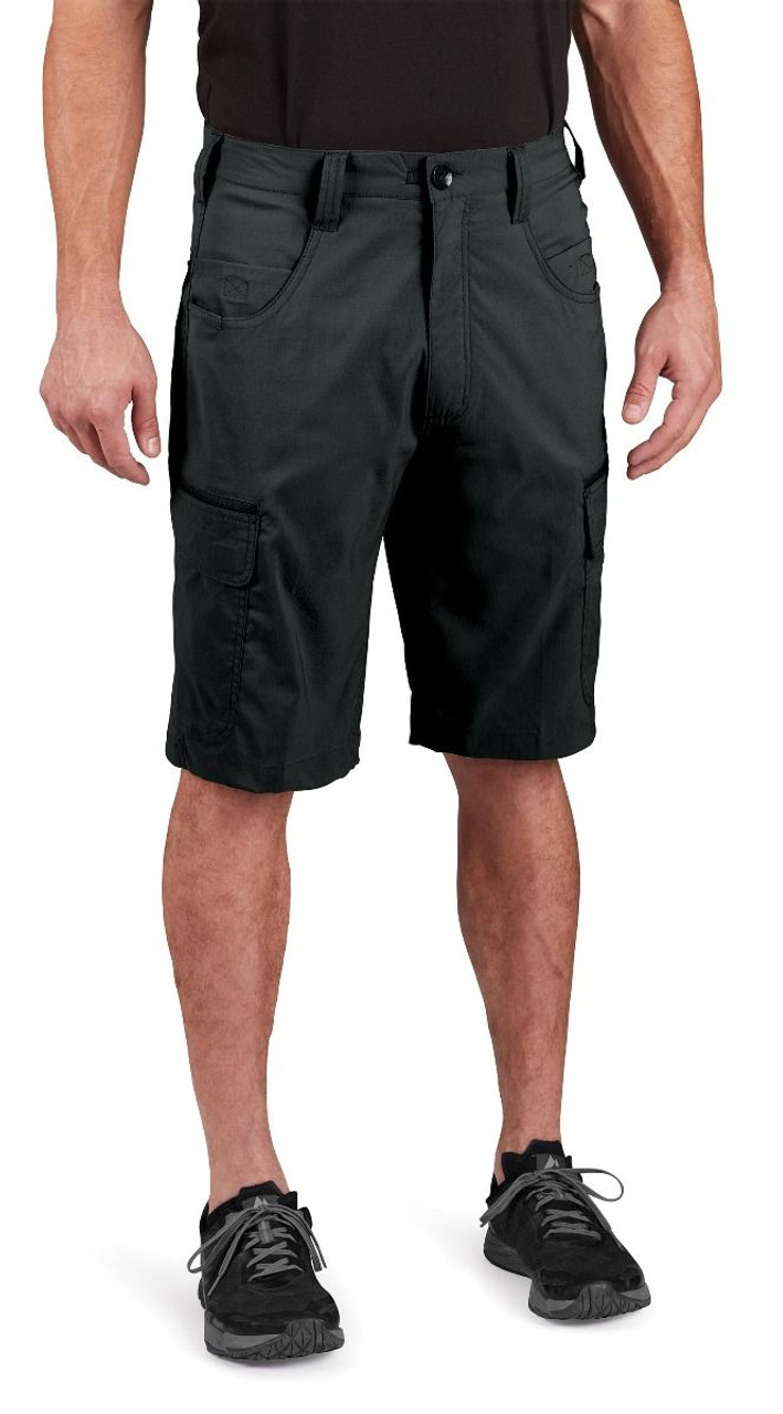 Propper Men's Summerweight Tactical Short, available in Black, Khaki, Olive Green, or LAPD Navy F5264