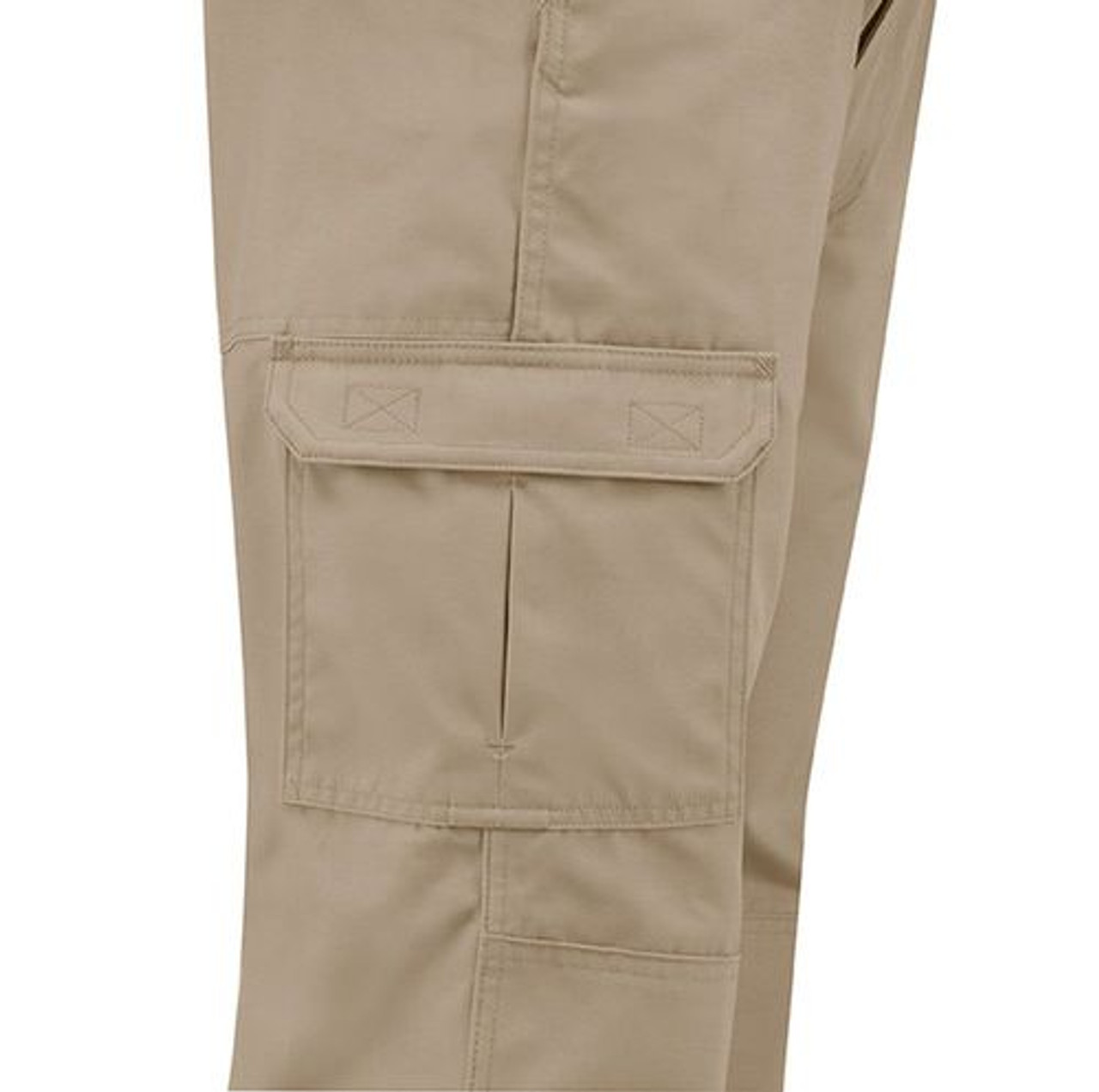 Propper F5252-82 Men's Canvas Tactical Cargo Pants, Relaxed Fit, Adjustable Waistband, D-ring and Knee Pad Pocket, Polyester/Cotton with Teflon Fabric Protector