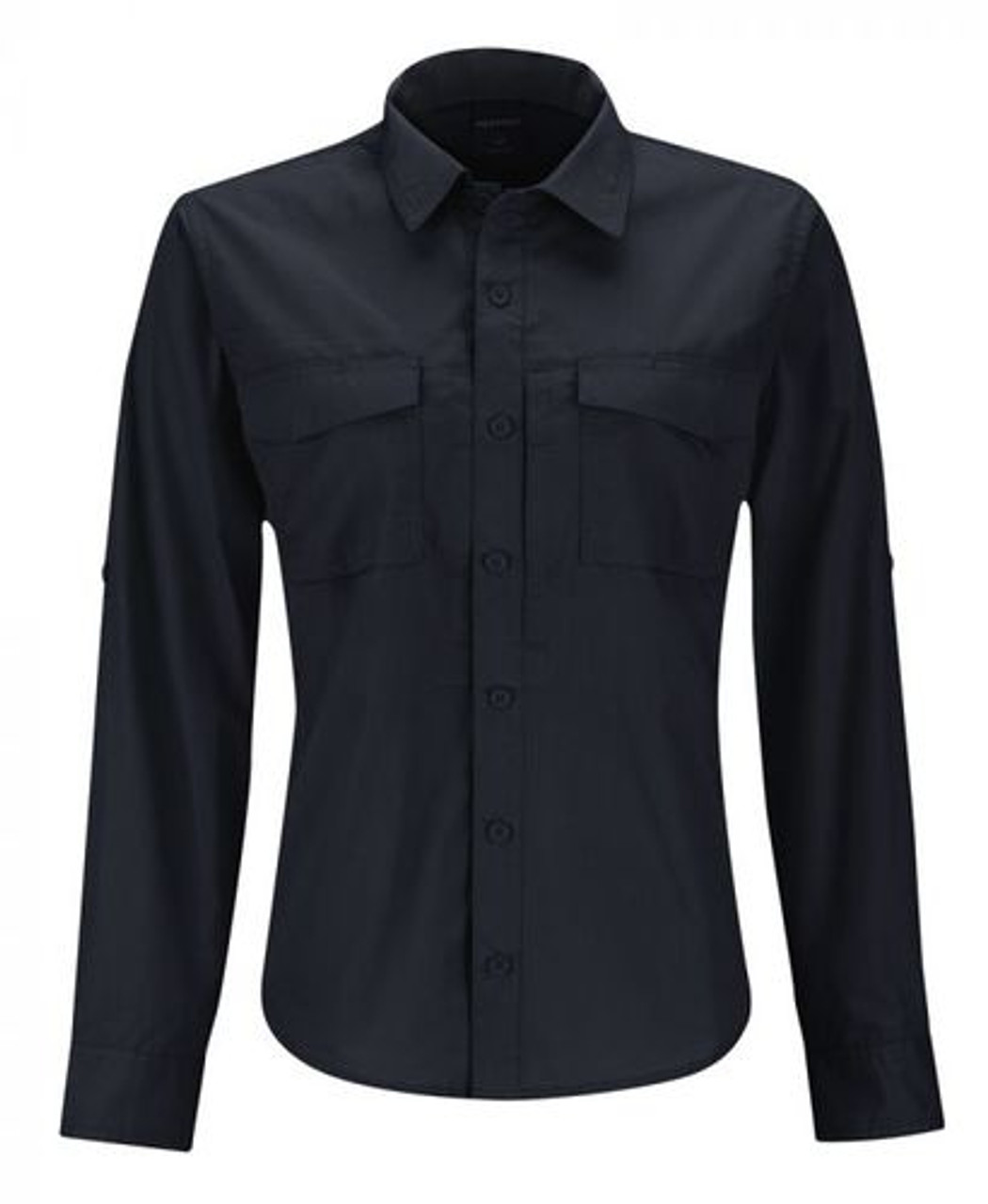 Propper® F5335 Women's Rev-Tac, Tactical Casual or Uniform Button-Down Long Sleeve Shirt, Polyester/Cotton, Badge Tab