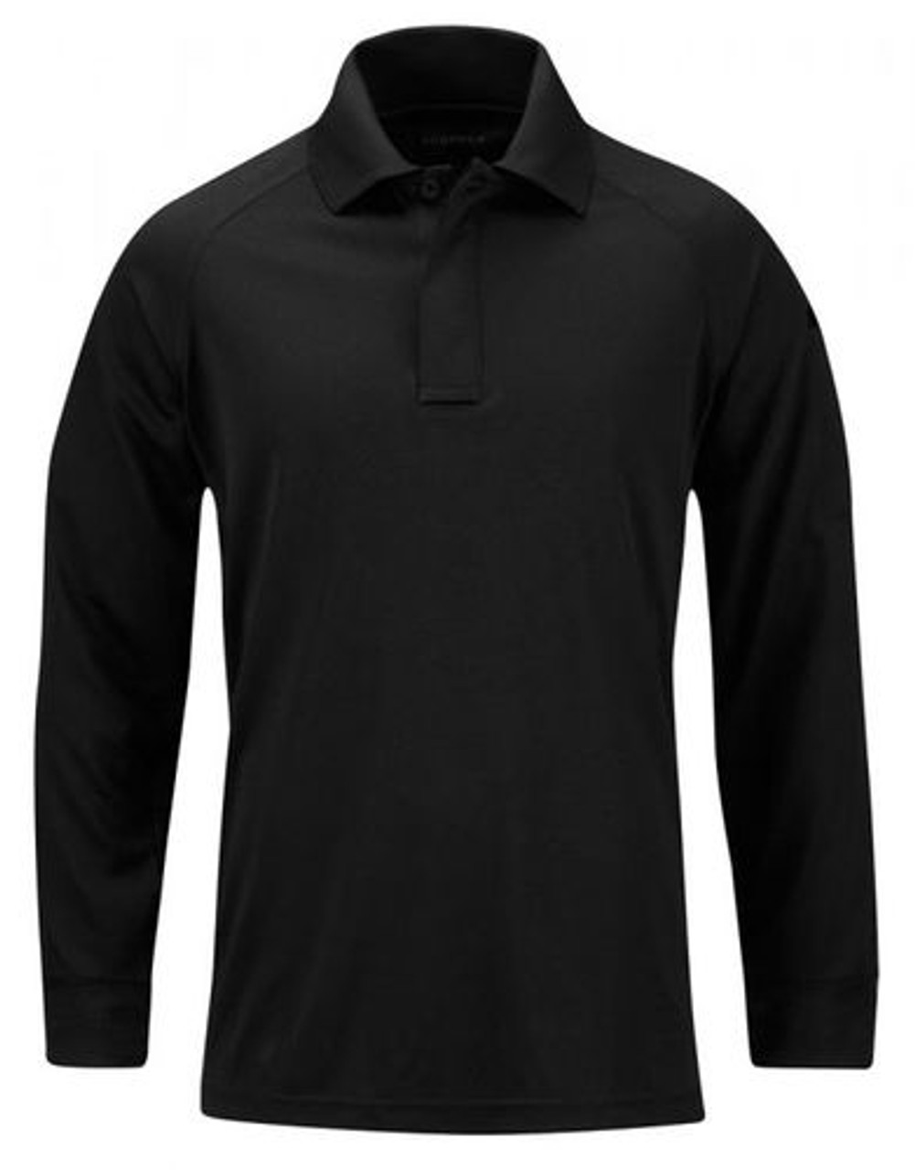 Propper® F5362 Men's Snag-Free Tactical Polo, Long Sleeve, 100% Polyester, Shoulder Mic Loop, Sternum Mic Loop, For Casual or Uniform use, available in black, grey, silver tan, green and LAPD Navy
