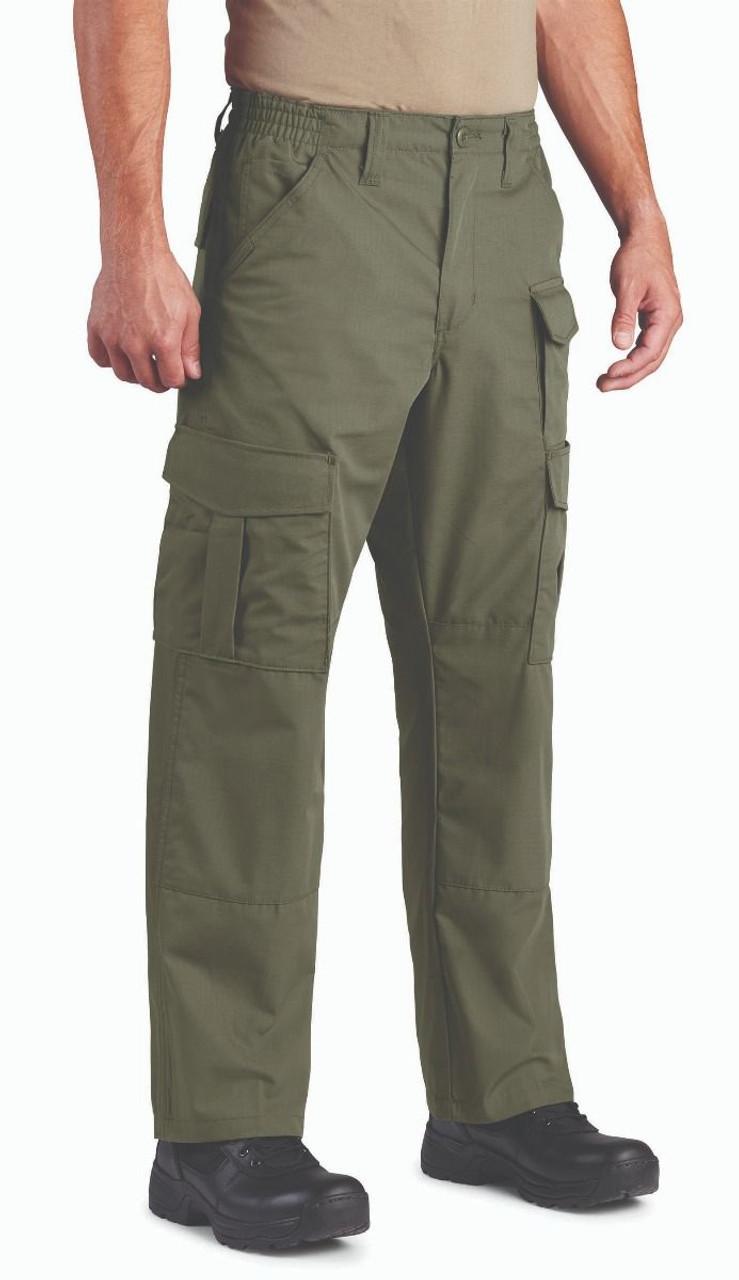 Propper F5251 Men's Uniform Tactical Pants, Cotton/Polyester, Adjustable Waist, Knee Pad Pockets