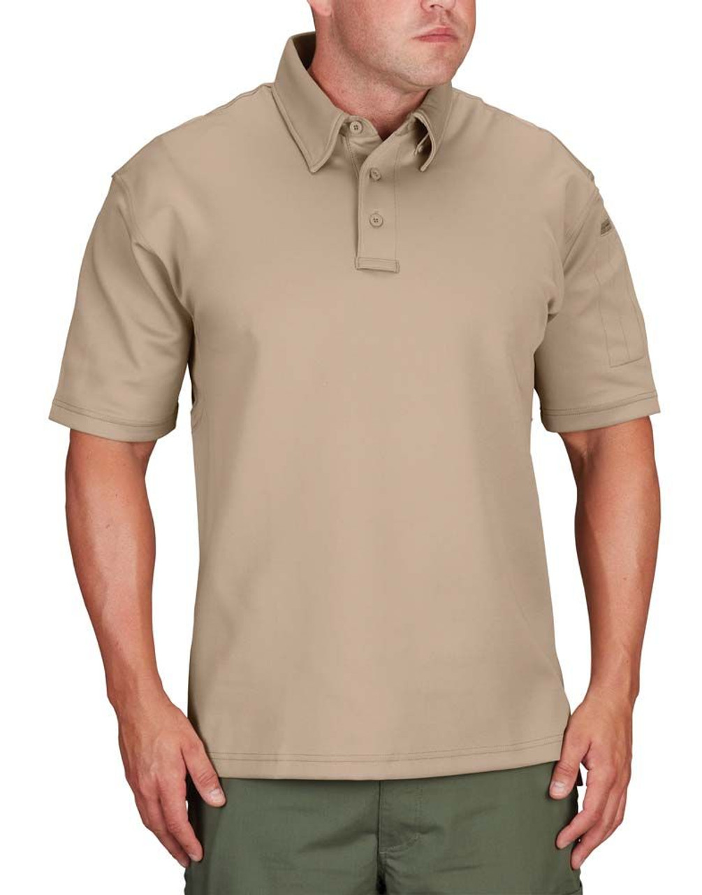 Propper  F5341-72 Men's I.C.E.® Tactical Polo, Short Sleeve, Casual/Uniform, Polyester/Spandex, includes Shoulder Mic Loop
