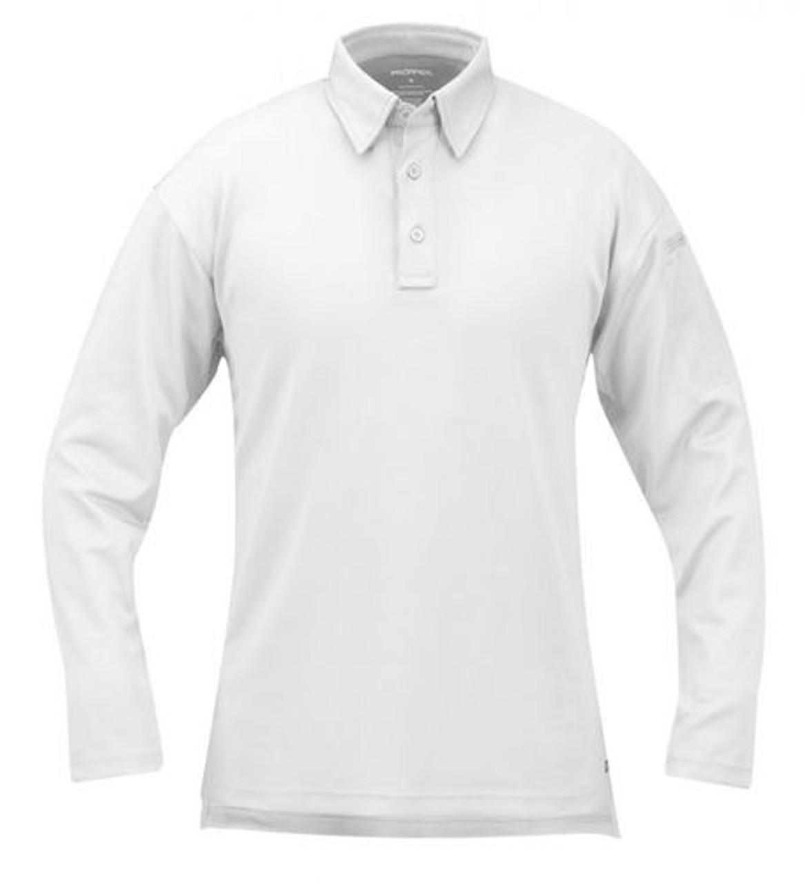 Propper F5315-72 Men's I.C.E.® Tactical Polo, Long Sleeve, Casual/Uniform, Polyester/Spandex, includes Shoulder Mic Loop