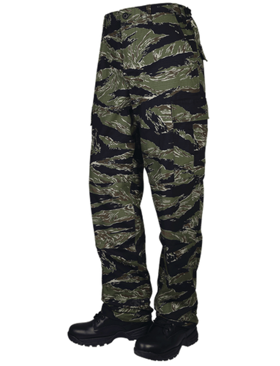 Tru-Spec 1593 Men's BDU Uniform Tactical Pants, Cargo, Relaxed Fit, 100% Cotton Rip-Stop, Nylon drawstring leg ties