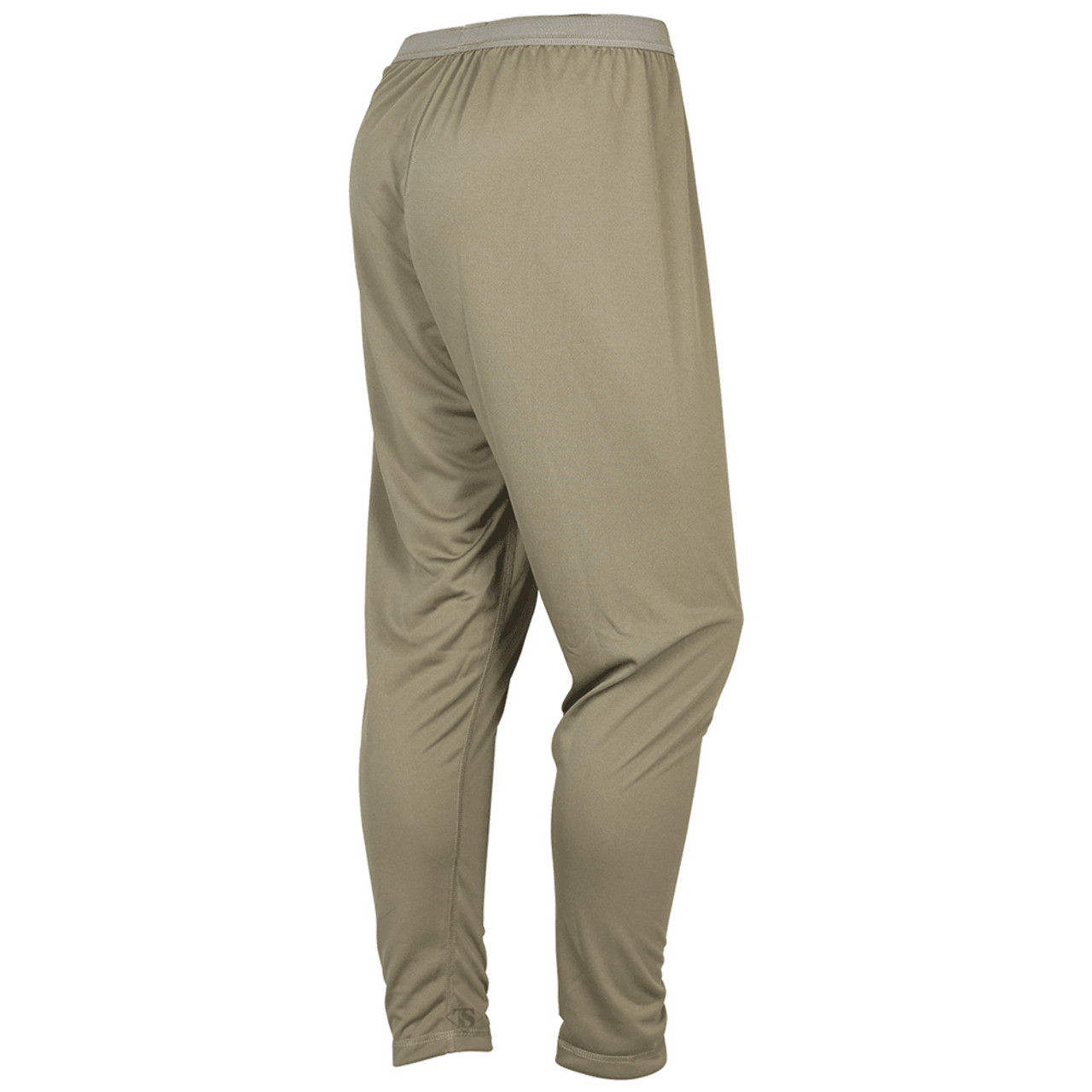 Tru-Spec GEN-III ECWCS Level-1 Bottom Tactical Base Layer, Elastic waistband, quick drying and compresses to reduce volume when packed, available in Black, GI Desert Sand, Tan499 and Coyote Brown