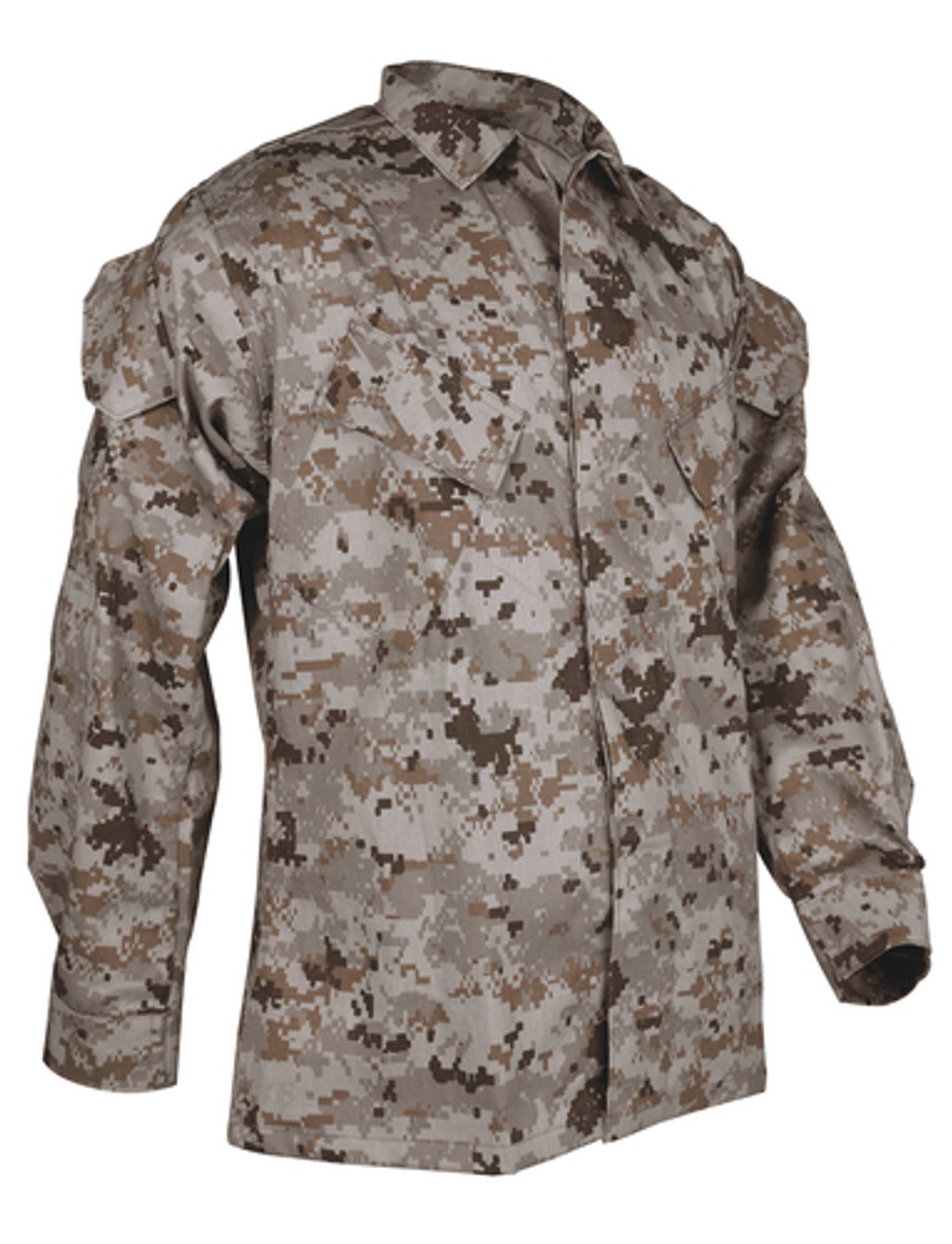 Tru-Spec TS-1929 VAT Print Digital Long Sleeve Uniform Shirt, 2 Chest Pockets, Elbow Pad Pockets, Sleeve Pocket, available in Desert Digital, Urban Digital, or Woodland Digital