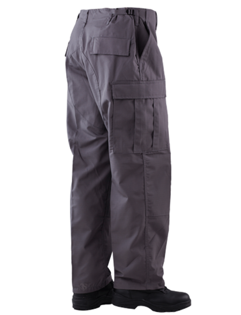 Tru-Spec 1304 Men's BDU Uniform Tactical Pants, Cargo, Relaxed Fit, 65% Vat Dyed Polyester/Cotton 35% Rip-Stop, Drawstring Leg Ties