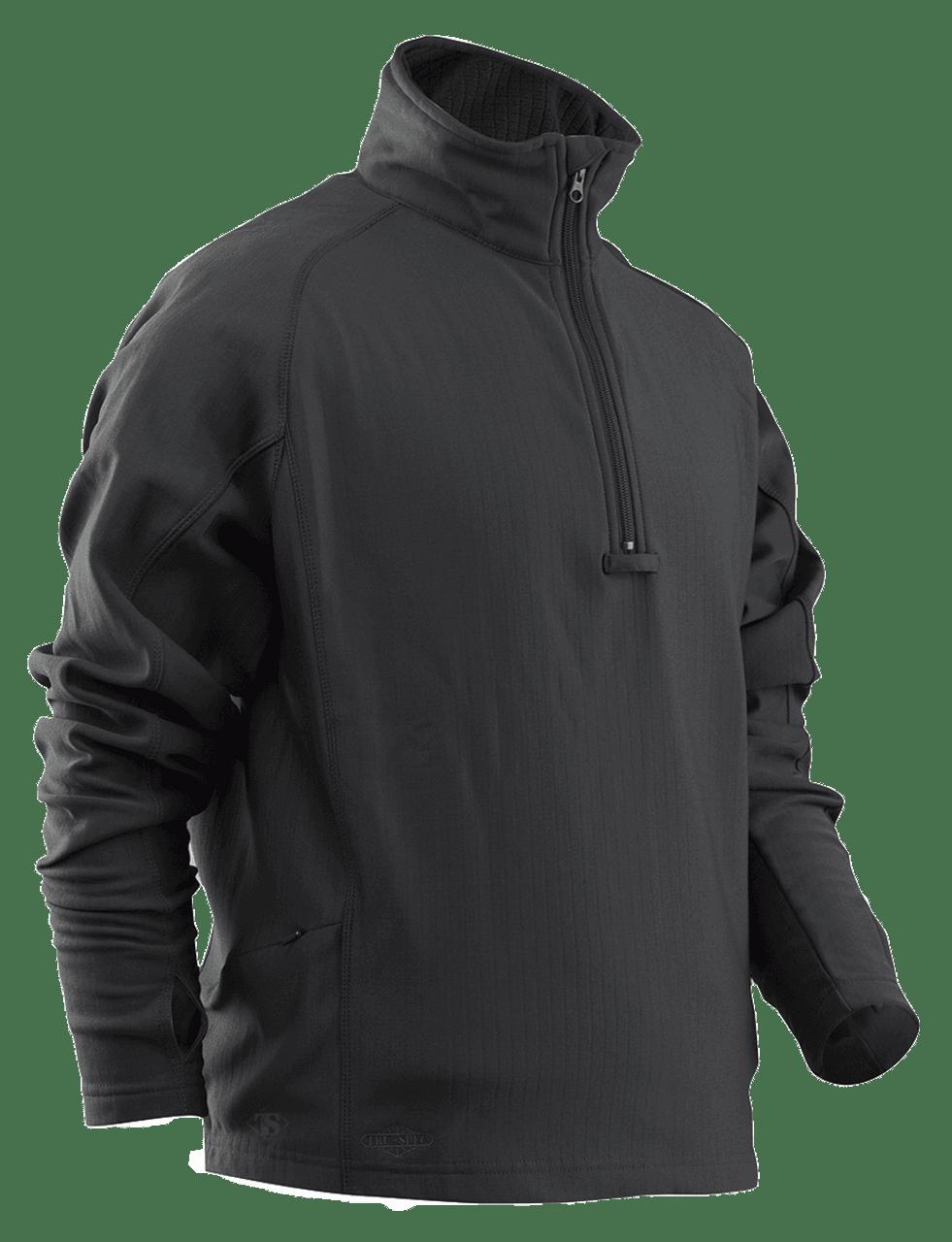 TRU-SPEC 24-7 Series Grid Fleece Pullover Black Coyote