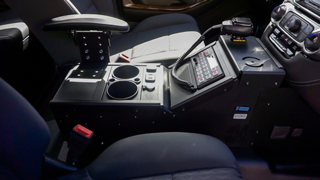 2019 4x4 White Tahoe PPV Slick-Top Admin with Red-Blue LEDs Ready for the Road Turnkey Pre-built Police Package,  Optional Prisoner Transport Equipment, Free Delivery, 4WD, V8