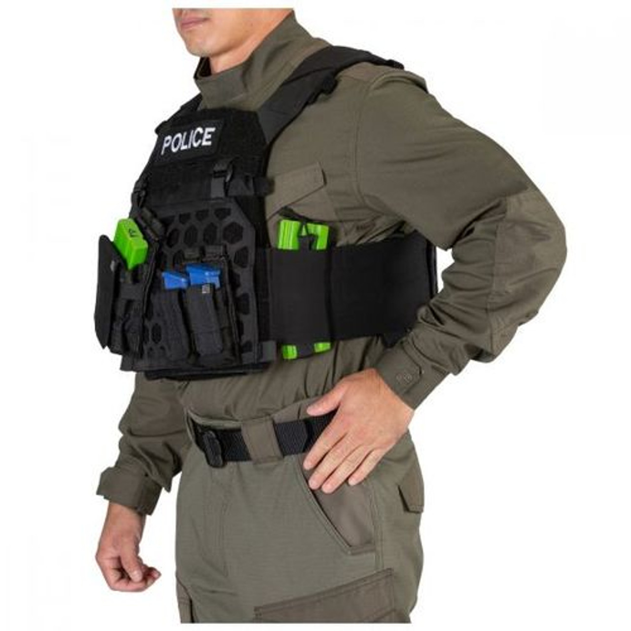 5.11 Tactical All Mission Plate Carrier, available in Black or Kangaroo Brown 59587